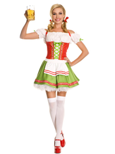 OffTheShoulder Beer Girl Beer Girl Costume