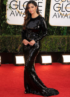 shiny-black-sequined-sheath-camila-alves-golden-globe-dress