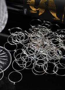 Anillo para vino de 12 piezas