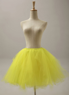 quality-yellow-short-flare-slip-wedding-petticoat-for-brides