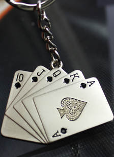 poker-pattern-metal-wedding-keychain-set-of-4