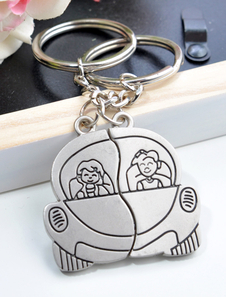 draiving-couple-metal-keychain-set-of-12-for-wedding