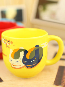 Natsumes Book Of Friends Anime Ceramic Mug Cup Yellow