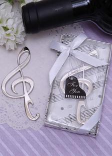 Image of Argento Metal classico tradizionale bottiglia favore per matrimonio
