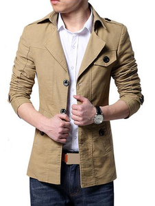 Quality Cotton Mens Trench Coats in Both Formal and Casual Style