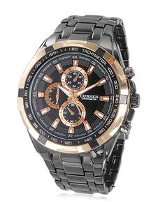 Reloj con correa de acero inoxidable