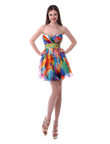 a-line-sweetheart-neck-printed-chiffon-short-homecoming-dress