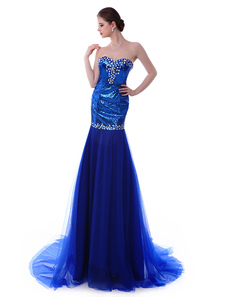 mermaid-royal-blue-sweetheart-neck-court-train-evening-dress