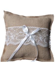 Almohada para anillos con lazo