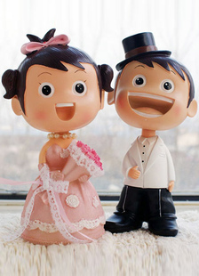 asian-figurine-classic-couple-wedding-cake-toppers