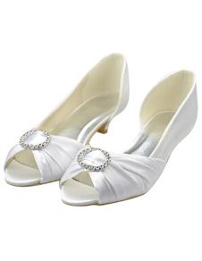 white-rhinestone-kitten-heel-peep-toe-wedding-shoes