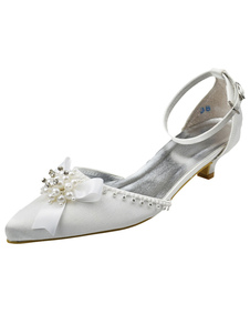 chic-white-kitten-heel-pointed-toe-bridal-shoes