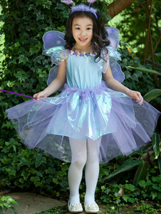 Blue Butterfly Elf Dress