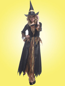 Black Witch Costume For Halloween