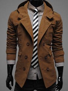 Abrigo de hombre 2018 Chaqueta con capucha