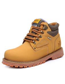 cowhide-cashmere-combat-boots