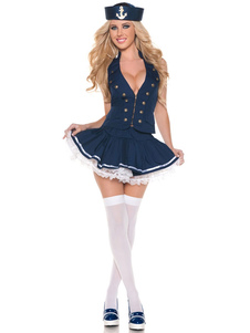Blue Woman's Sailor Costume
