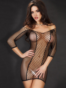 netted-sheer-shaping-chemise