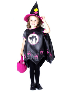 Black Girls Witch Costumes For Halloween