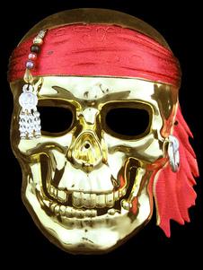 Halloween Mardi Gras Pirate Mask