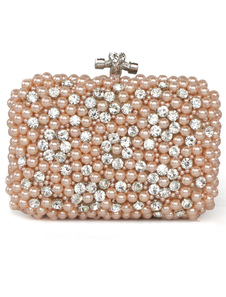 Image of Pearl Beaded Evening Bag
