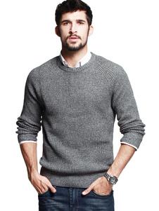 gray-pullover-knitwear