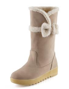 Image of Medio taglio piatto neve stivali
