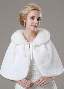 short-faux-fur-bridal-shawl