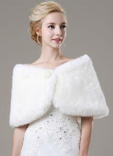 beaded-faux-fur-bridal-shawl