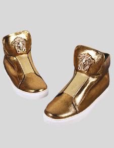 golden-women-sneakers