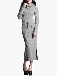 belted-turtleneck-longline-sweater-dress