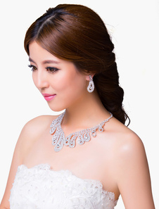 sparkling-rhinstone-bridal-necklace-dangel-earring-set