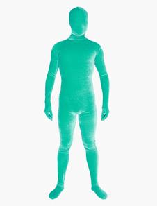 Unisex Velours Zentai Suits