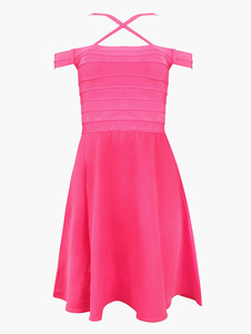 rose-red-rayon-party-dress