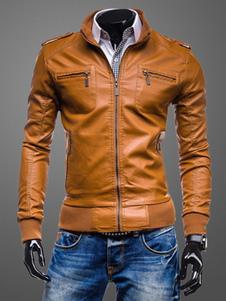 pu-leather-pockets-leather-jacket