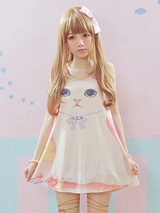 sweet-kitten-print-lolita-t-shirt-jumper-skirt