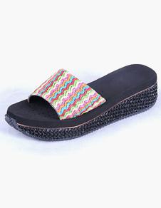 logos-slip-on-round-toe-women-flip-flops