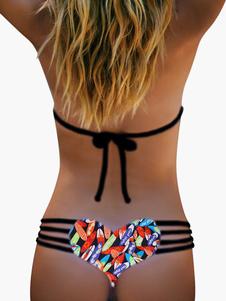 Attraktive Leopard Print Bikini Damen Bikini informiert