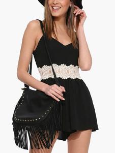 fashion-black-lace-acetate-romper-for-women