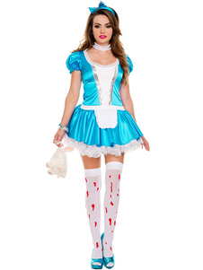 sexy-fairy-tale-alice-in-wonder-land-dress-blue-maid-bow-costume-cosplay