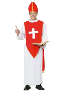 Red Halloween Father Costume
