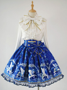 Image of Gonna Sweet Lolita Angelic Pretty Replica Pegasus Stampa SK Lolita Gonna