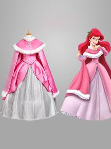 Image of Carnevale Sleeping Beauty Costume Rosa per Ragazze Costume Cosplay da Principessa Carnevale