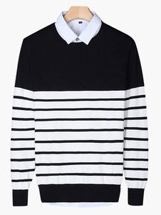quality-crewneck-cotton-men-pullover-knitwear