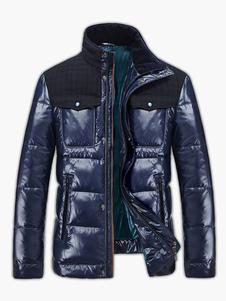 Abajo chaqueta con bolsillos casual hombres