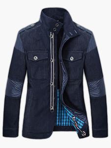 modern-pockets-bottons-washed-denim-jacket