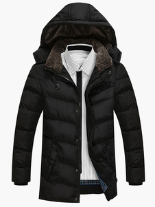 men-bottons-hooded-cotton-padded-jacket