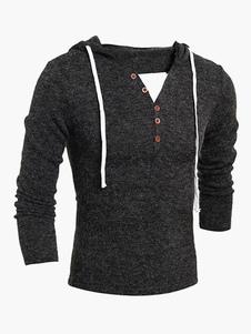 simple-v-neck-bottons-men-hoodie
