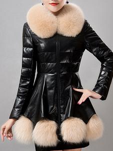 Image of Anatra di eco-pelliccia piumino per le donne