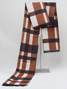 men-classic-plaid-cotton-scarves
